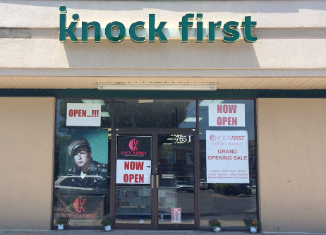 Knock First Couple's Boutique in Rockville, Maryland
